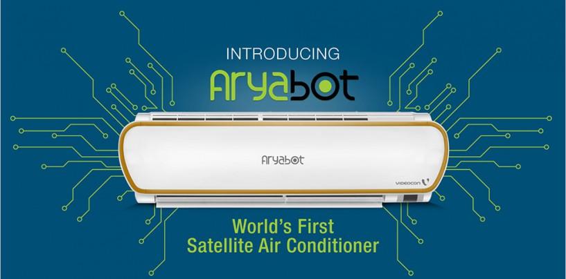 MEET THE WORLD'S FIRST SATELLITE AC – ARYABOT!