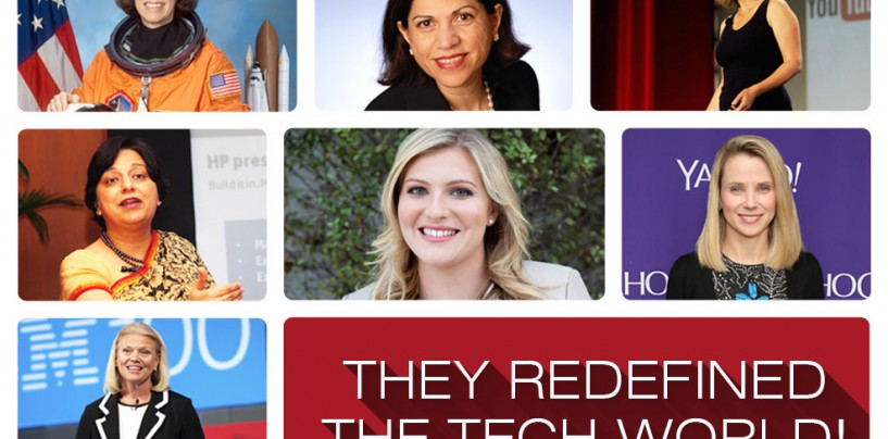 CELEBRATING THE WOMEN WHO REDEFINED THE TECH WORLD
