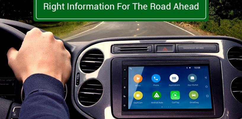With both 'AUTO' and 'MOBILE' Android will make your car smarter