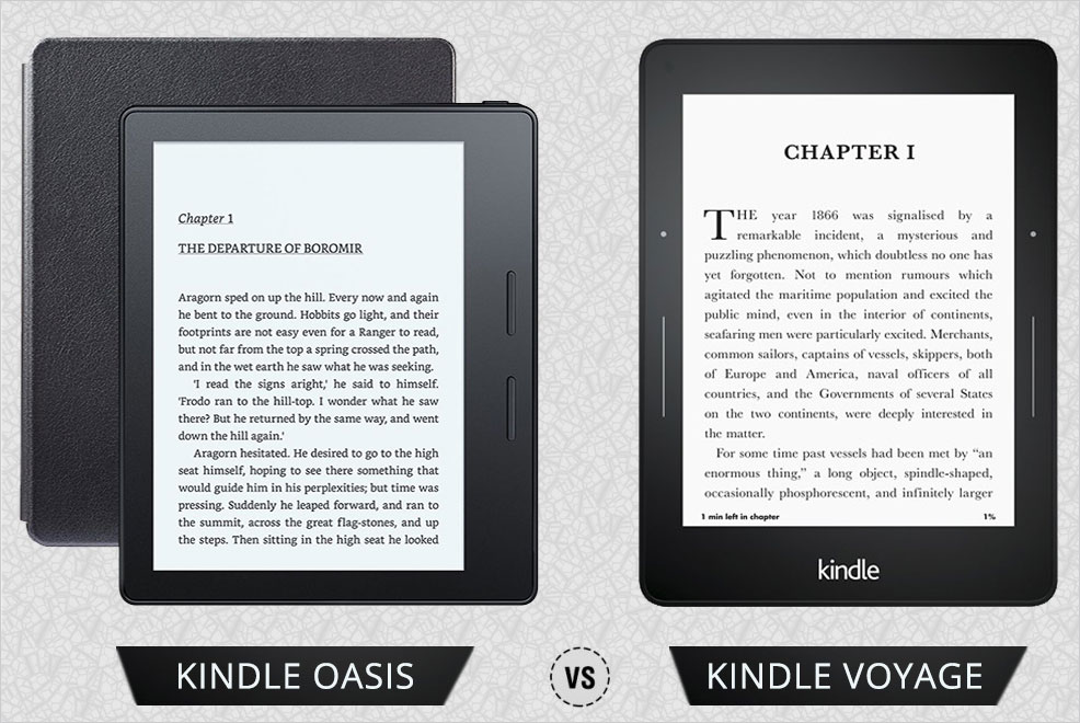Is it time to upgrade your Kindle Voyage to Kindle Oasis?