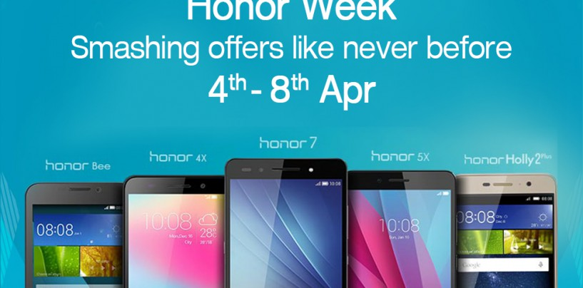 Get Honored by the Honor in the 'HONOR WEEK'