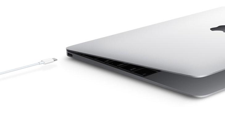 macbook usb type