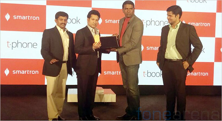 sachin tendular launch smartron