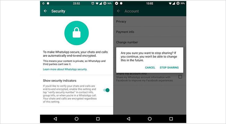 whatsapp data encryption