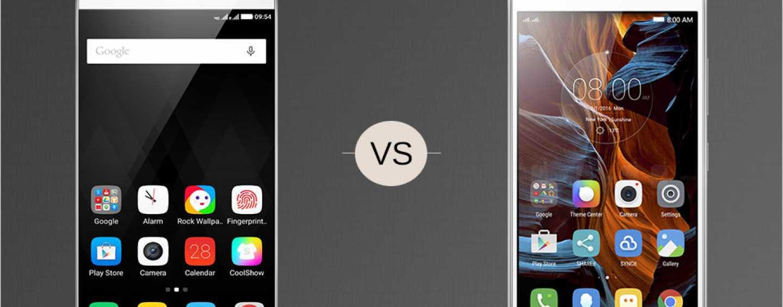 Battle Of Affordable Smartphones: Coolpad Note 3 Plus vs. Lenovo Vibe K5 Plus