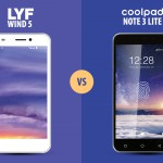 RELY ON THE WIND OR BE COOL? COOLPAD NOTE 3 LITE V/S RELIANCE LYF WIND 5