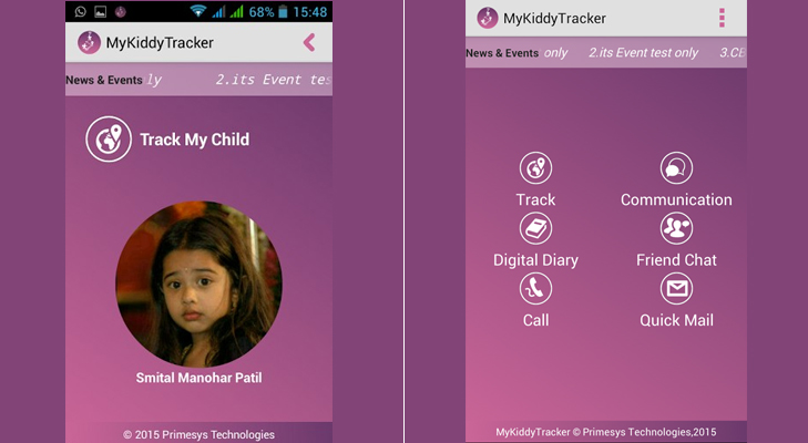 Mykiddytracker mobile app fathers day