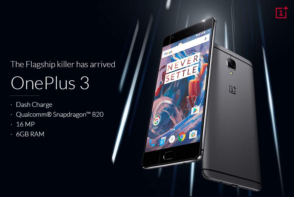 Oneplus 3 launched
