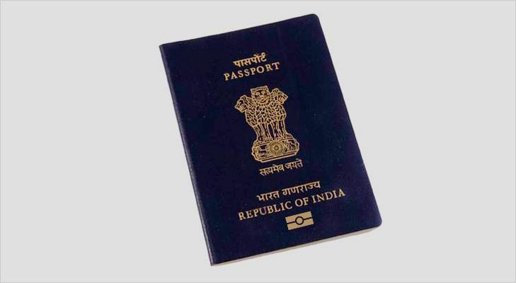 Indian passport electronic passport