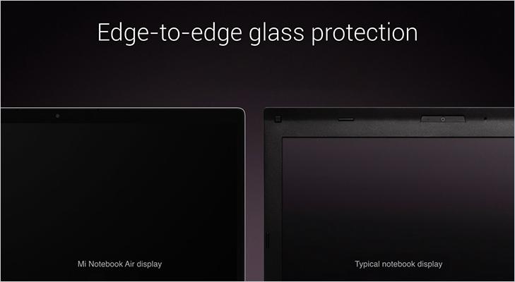 Mi notebook edge to edge glass protection