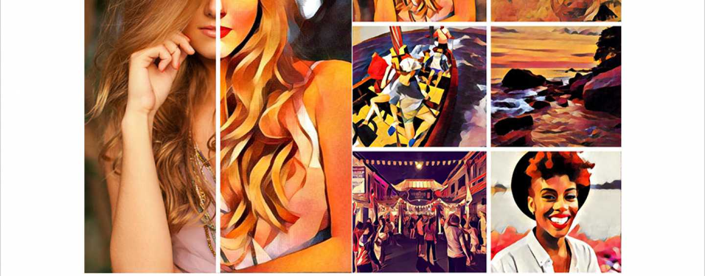 WITH THE NEW PRISMA APP, EVERY PICTURE IS A MASTERPIECE