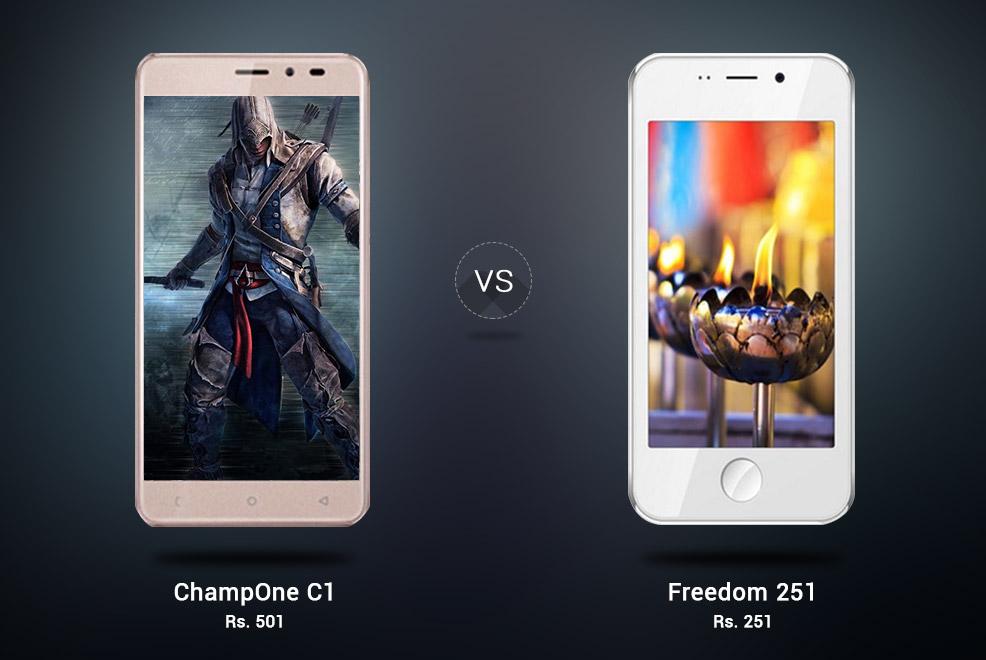 ChampOne C1 Vs Freedom 251