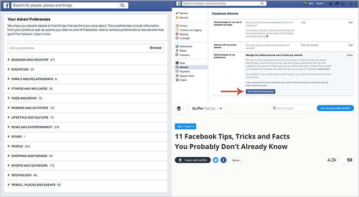 How to manage advertisements facebook