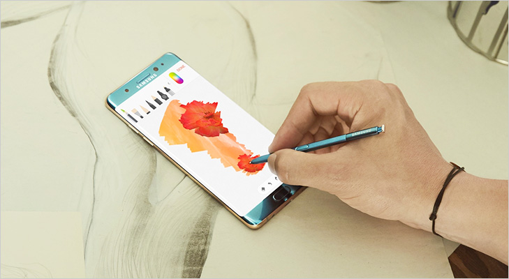 Samsung galaxy note 7 lifestyle S pen
