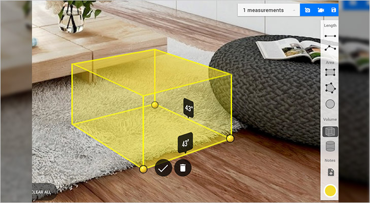 lenovo phab 2 pro tango augmented reality helps visualise furniture