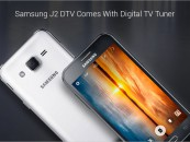 Galaxy J2 DTV: Samsung's First To Be launched with A Digital TV Tuner