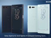 Sony Xperia XZ and X Compact, The Two New Flagships From Sony Are Up For Pre-Order