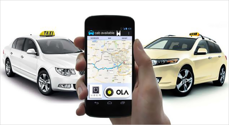 cab booking without ola uber mobile apps