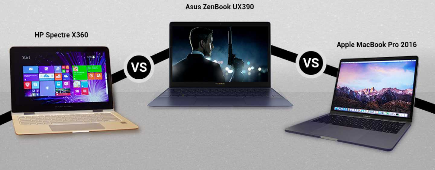 Asus ZenBook 3 Vs HP Spectre x360 Vs Apple MacBook 2016 – Who'll Win The Race For Fastest, Thinnest And Coolest Laptop