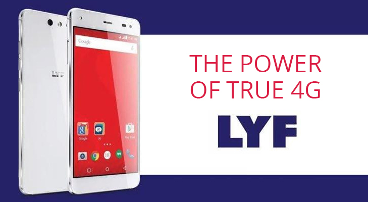 reliance jio lyf easy the power of true 4g