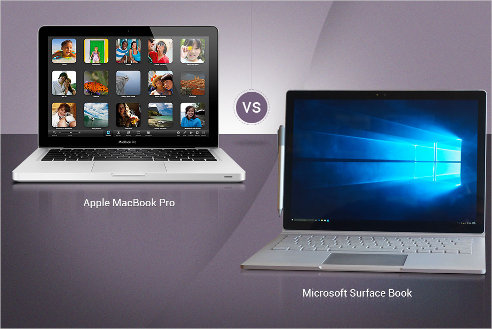 Surface Book Vs MacBook Pro: Microsoft And Apple Go Head-To-Head, But Which 2016 Laptop Should You Invest In?