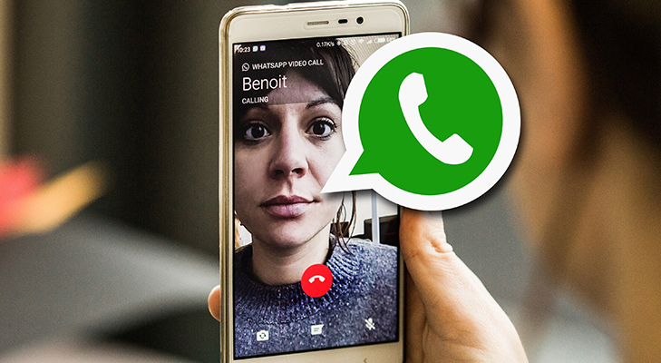whastapp video calling now available india