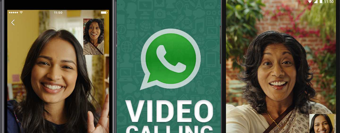 WhatsApp launched its Video Calling feature!