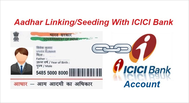 aadhar card linked with bank account