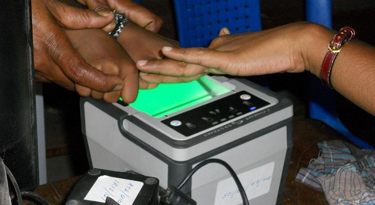 aadhar digital payment fingerprint
