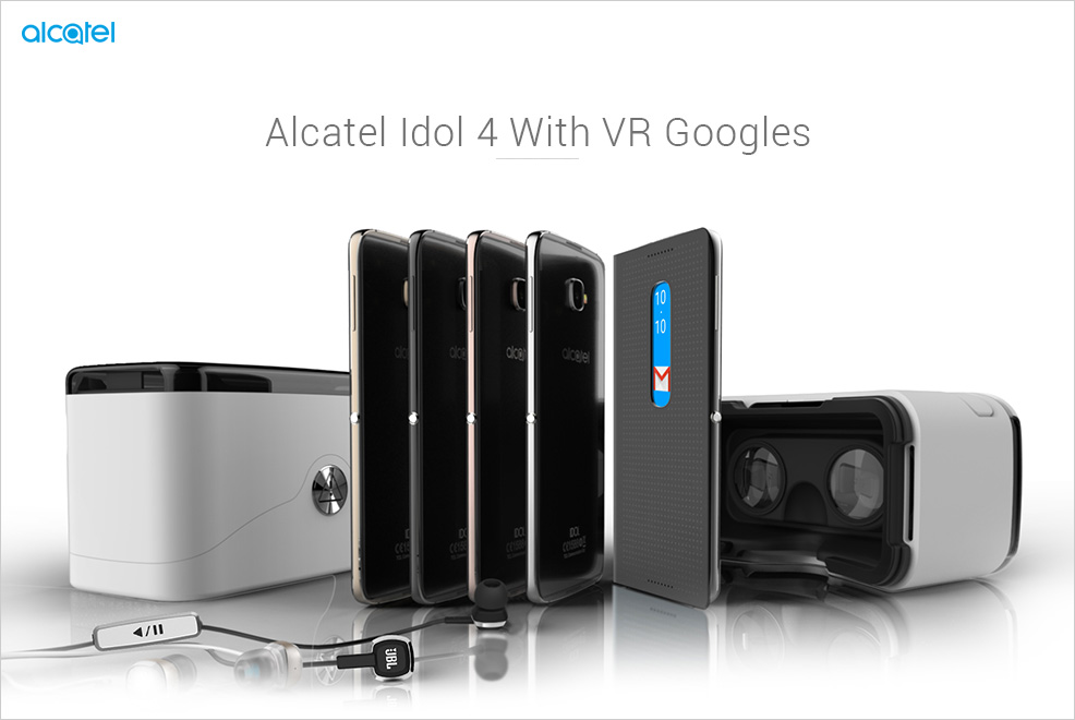 Alcatel Idol 4 With VR Goggles To Launch In India On 8th December: Here's Everything That You Must Know