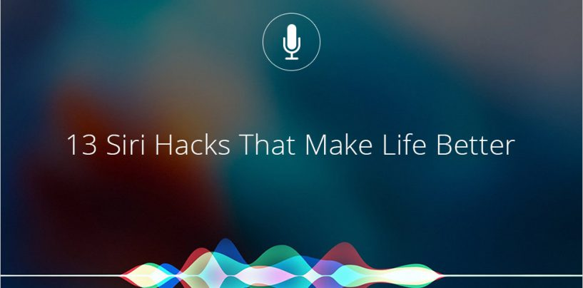 13 Tasks You Didn't Know Siri Could Perform