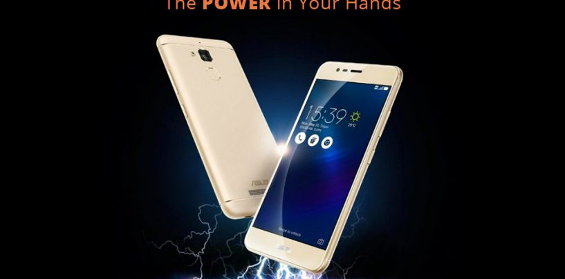 Asus Launches Its Zenfone 3 Max With Reverse Charging In India