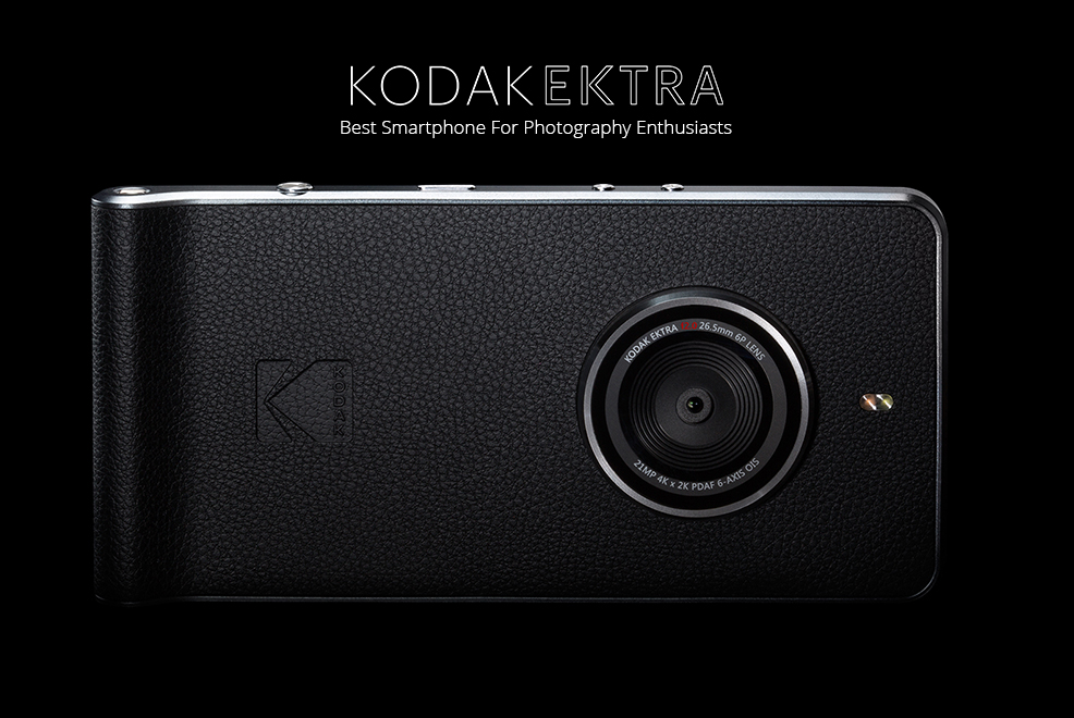 Kodak Ektra With DSLR-like Camera
