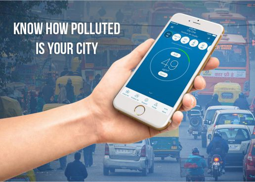 PUT ON A GAS MASK OR RIDE THROUGH THE CITY? KNOW THE LEVEL OF AIR POLLUTION IN YOUR CITY WITH THESE APPS & GADGETS