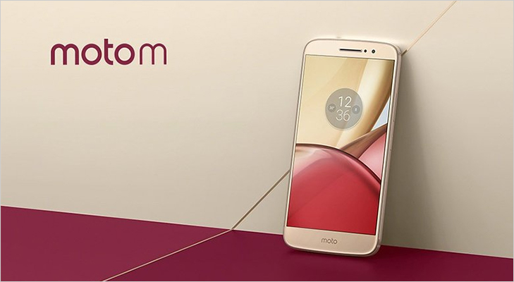 moto m launch india design