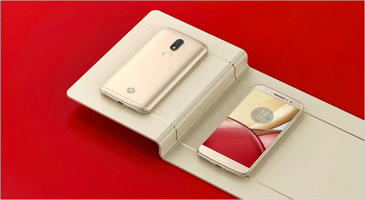 moto m launch india front back