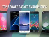 Top Five Smartphones With Excellent Battery Life