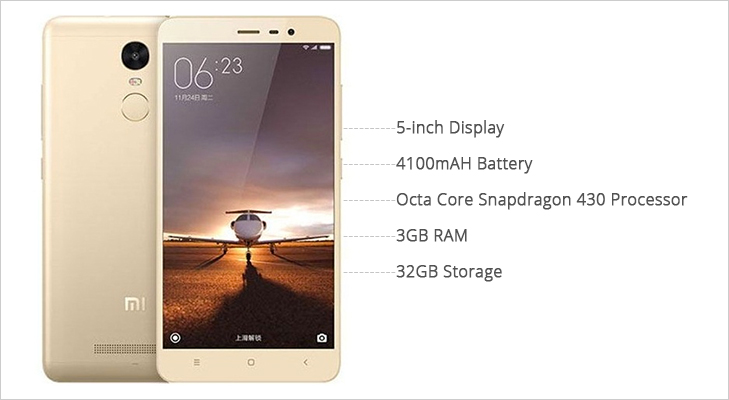 xiaomi redmi 3s prime features
