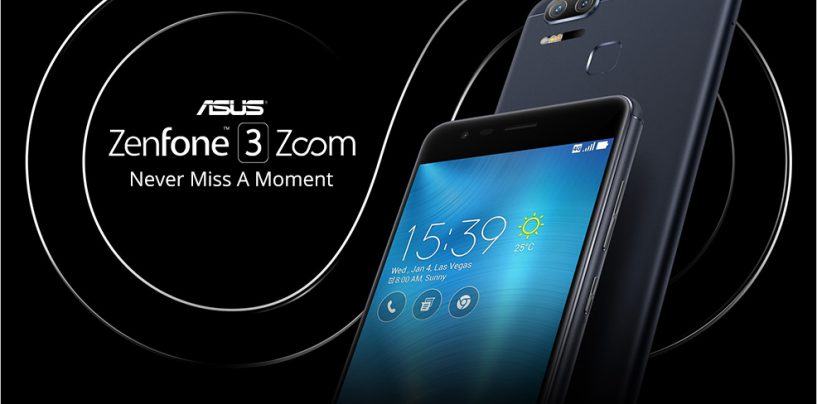 Asus launched its Zenfone 3 Zoom so you can have a DSLR camera on your phone!