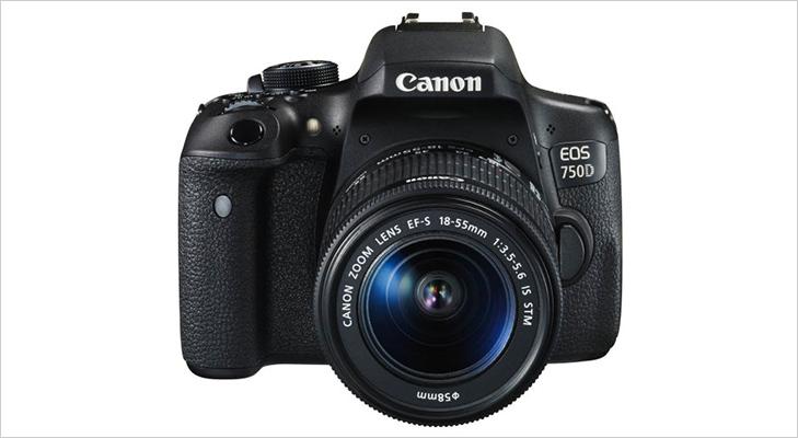 best dslr cameras under 50k canon eos 750d