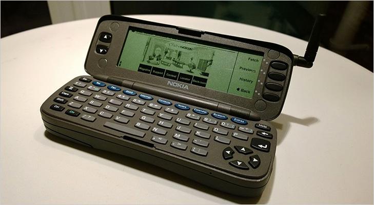 best old smartphone nokia 9000