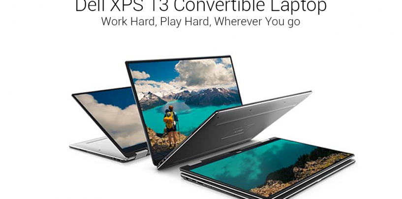 Dell Is All Set To Beat The Remarkable XPS 13 with The XPS 13 2-in-1 Convertible Laptop