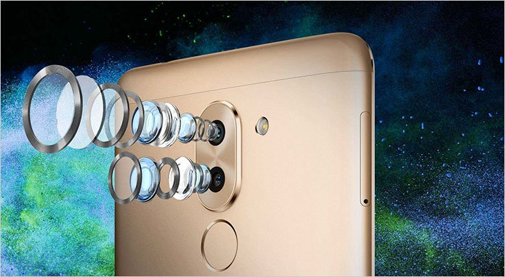 Huawei honor 6X dual lens camera