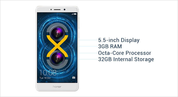 Huawei honor 6X features