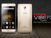 Lenovo begins the New Year with its Vibe P2 packed with 5100 mAh battery!