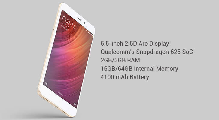 Redmi note 4 features