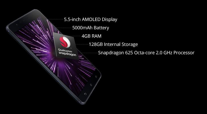 zenfone 3 zoom features battery