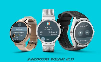 Google Unveils The Future Of Smartwatches With Android Wear 2.0.