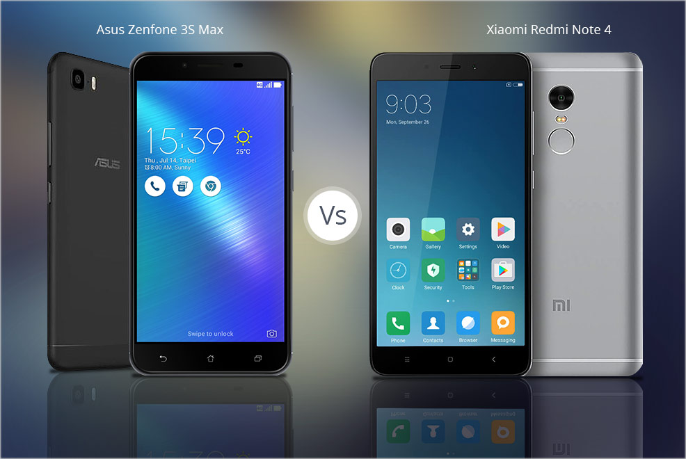 ASUS ZENFONE 3S MAX TAKES ON XIAOMI REDMI NOTE 4 IN A BATTLE OF BUDGET SMARTPHONES