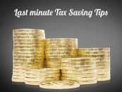 Last Minute Tax Saving Tips